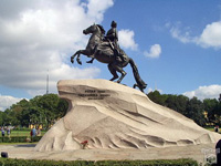 St.Petersburg. Peter the Great Monument